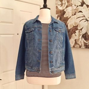 Old Navy Blue Denim Jean Jacket